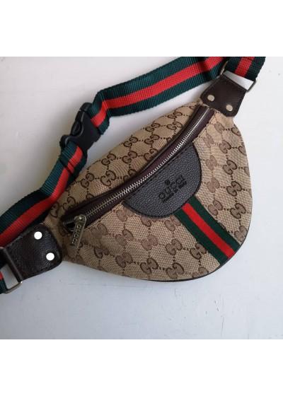 Мъжка чанта тип банан за носене на кръста - Gucci