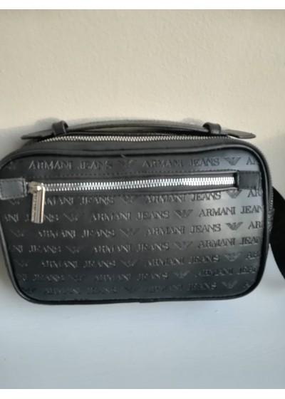 Луксозна мъжка чанта за рамо или кръст Армани