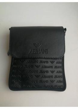 Стилна мъжка чанта през рамо Giorgio Armani - Размер М