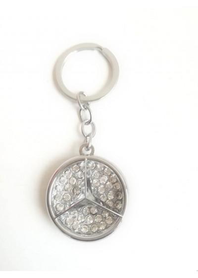 Кристален ключодържател Mercedes
