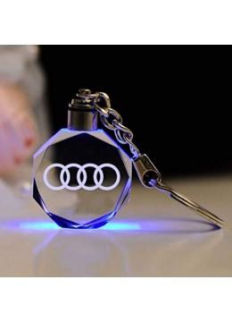 Кристален светещ ключодържател Audi