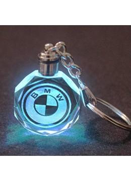 Кристален светещ ключодържател BMW