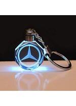 Кристален светещ ключодържател Mercedes
