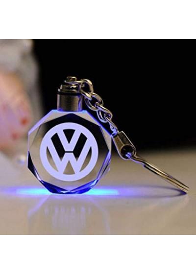 Кристален светещ ключодържател Volkswagen