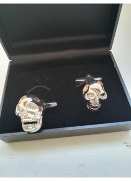 Ефектни ръкавели за специални поводи с череп модел Skull