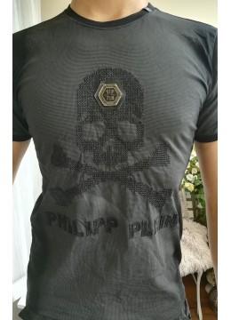 Мъжка тениска с череп - Philipp Plein
