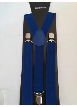 Тиранти в кралско синьо за ежедневно и официално облекло
