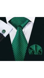 Комплекти вратовръзка кърпичка и ръкавели