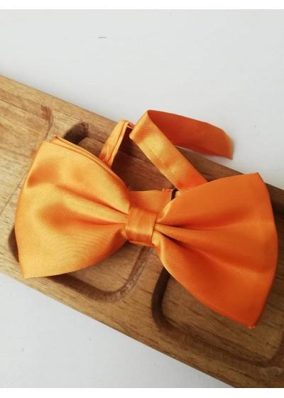 Мъжка папийонка в оранжево