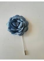 Сватбена бутониера цвят небесно синьо